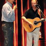 Cliff and cousin Steve Hudson