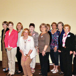 Welcome new Women's Club members for April 2014.