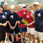 Attending the Texas Senior Games: Sherril Kerr, Patrick Claytor, Warren Williamson, Bob Romagosa, Irene Romagosa and Ford Roberson.