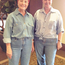 Pat and Linda, your tour guides to U.S. National Parks in 2015.