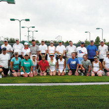 The Robson Ranch Women's USTA 55+ team.