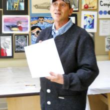 C. J. Kolb, the speaker at the September 13 meeting.
