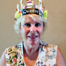 Katheryn Claudy wins the crown in the Queen's Tournament.