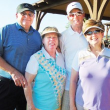 First place winners were Jo and Bob Leenhouts and Deb and Larry Nortunen.