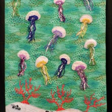 """Jellies,"" the quilt submitted by Lucy Rees."