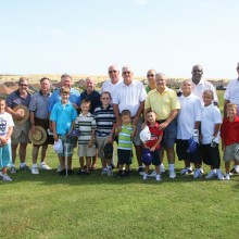 Grandparents golf outing