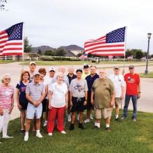 The flag crew