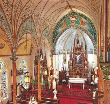 "This Road Runner trip includes a visit to the ""Painted Churches."""