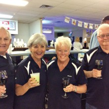 The Silver Foxes: Roy Gay, Angie Gay, Susann Meier and Gene Meier