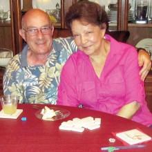 Hosts Mike and Millie Aramanda