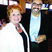 Sue Solometo and Dr. Ortega