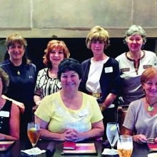 Front row: Jamey Siefert, Kathy Todd, Linda Venable, Melodye Rogers and Gayle Vokes; back row: Barbara Geiser, Janet Elizondo, Sondra Hall, Pat Vannest, Mary Sullivan and Cathy Jenkins.
