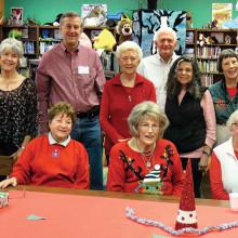 Borman Elementary Mentors' Christmas Party for their children.