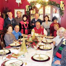 Sitting: Millie Aramanda, Mike Aramanda, Ed Heberlein, Melodye Rogers, Viv and Al Wright. Standing: Pete Toppan, Rick Boan, Bob Rogers, Nancy Toppan, Jere Bone, Kathy Heberlein and Vickie Bone