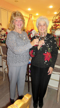 Kathy Perry and Bernadette Fideli