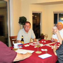 Ed Heberlein, David Parker, Al Wright and Viv Wright