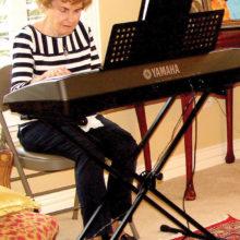 Pianist Marguerite Richardson; Photo by Dennis Brooks