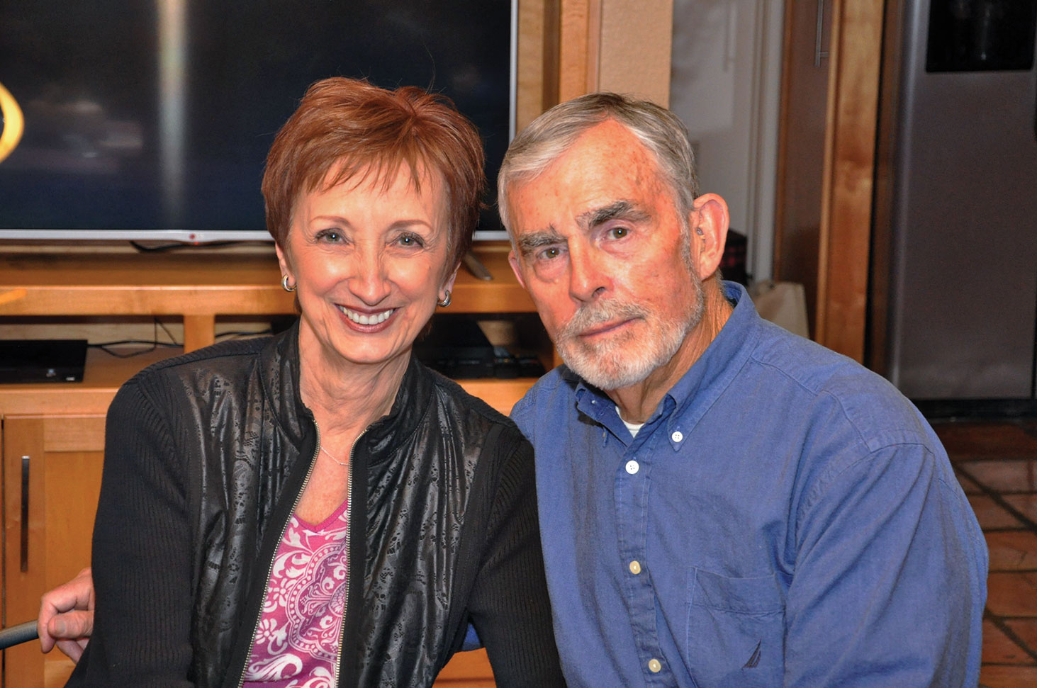 Venera and Richard Monahan on their 50th wedding anniversary