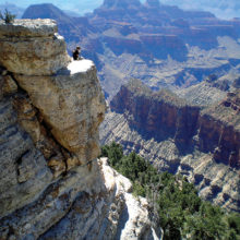 Front row seat to the Grandest Canyon of all