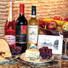 A night of tastings: wine, cheese and art