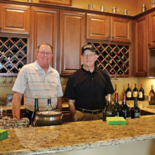 Our bartenders, Guy Bent and Jerry Phillips