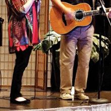 Connie DuBois singing