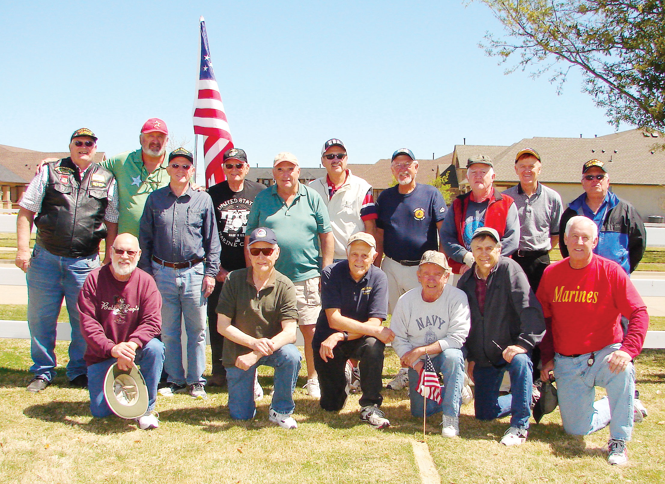 The Robson Ranch horseshoe group