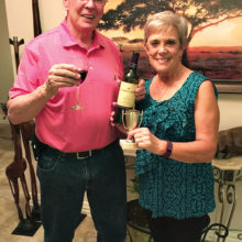 April winners Bill and Joyce Marshall