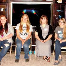 Program presenters, left to right: Wendy Callen, Stephanie Johnson, Christina Flook, Katherine Fargo, Marli Creeach, Jois Ross; Photo by Dennis Brooks
