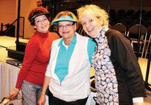 Left to right: Tina Hoffenberg, Janie Farnsworth and Debra Harwell