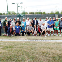 Tennis Club Spring Fling participants