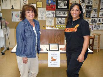 Debbie Kearns and Rachel Ferryman