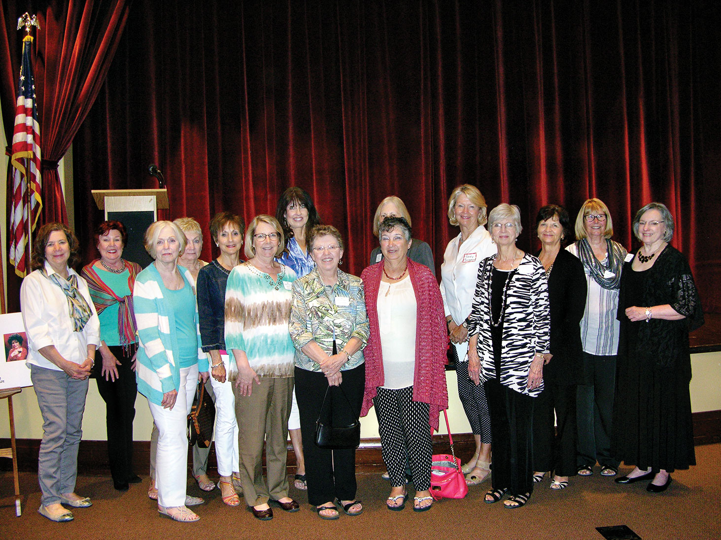 Robson Ranch Women's Club welcomes first time attendees.