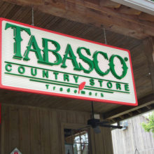 Avery Island, Louisiana is home to Tabasco Sauce.