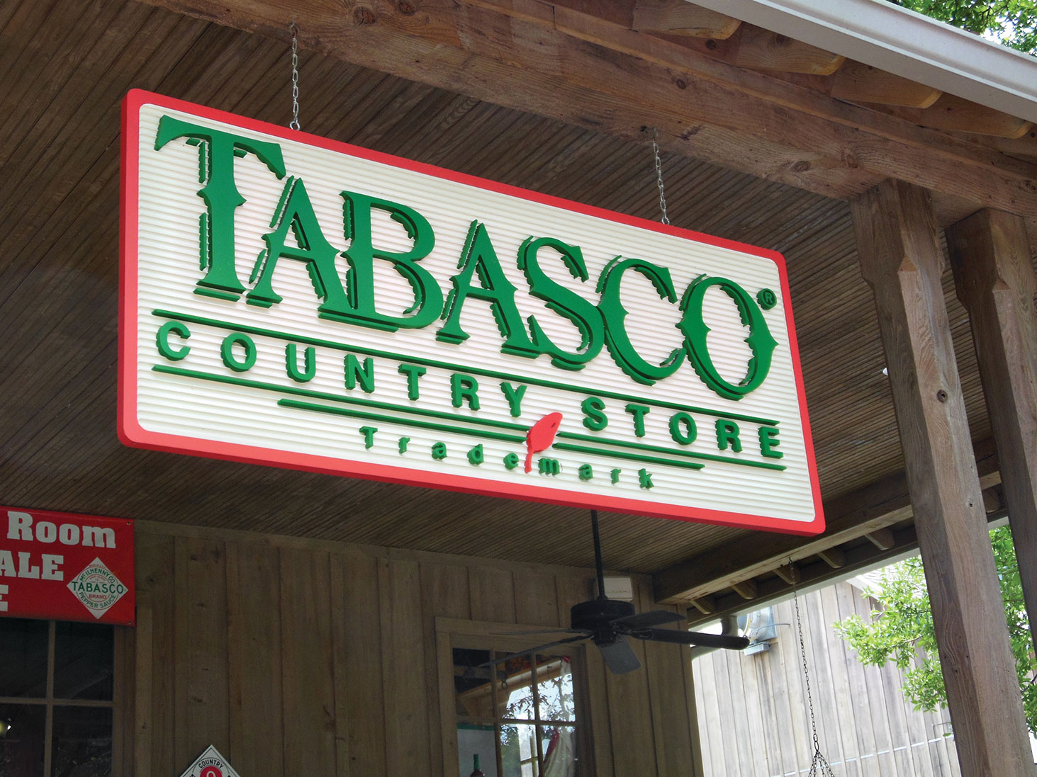 Avery Island, Louisiana is home to Tabasco Sauce.