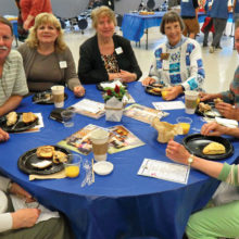 Appreciation breakfast at Evers Park Elementary