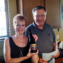 Sharon and Rich Heidebrecht host a wunderbar evening of German wines, food and music.