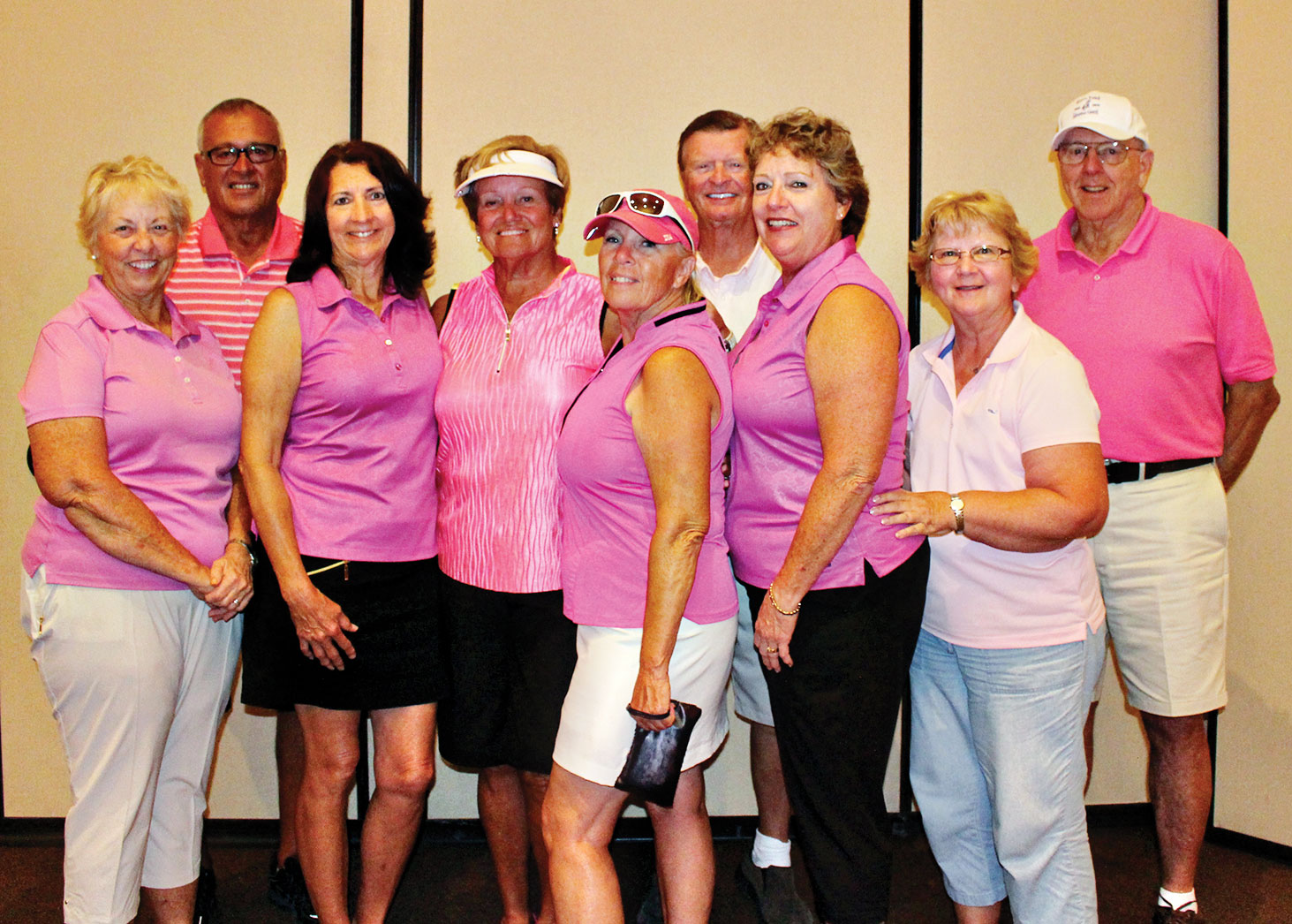 Pink Team, second place winners