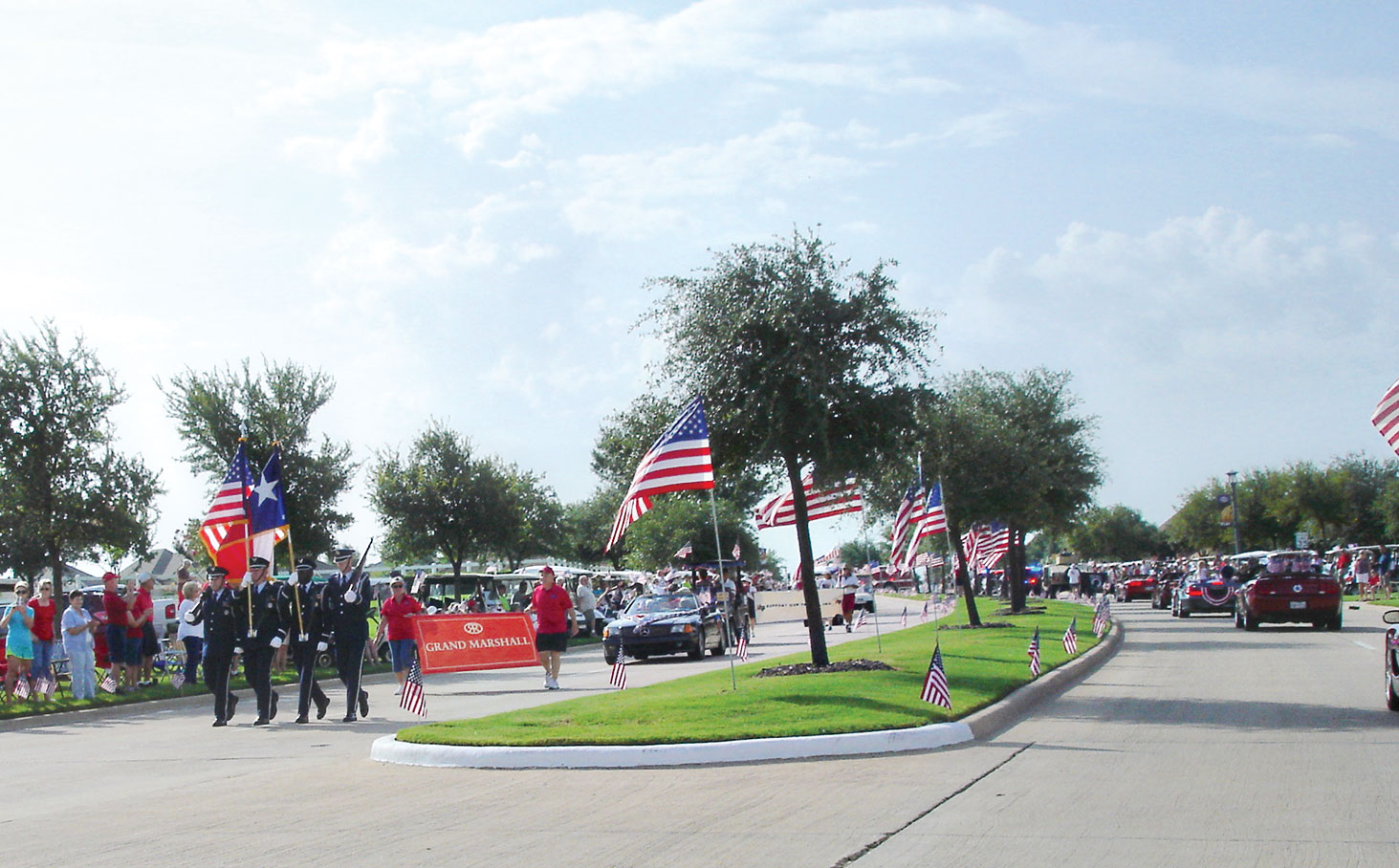 Sign up to be in the 4th of July parade
