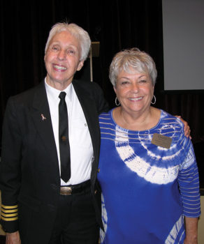 Wally Funk and RRWC President Darla Mahan