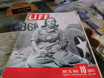 Life Magazine cover of a WASP Pilot