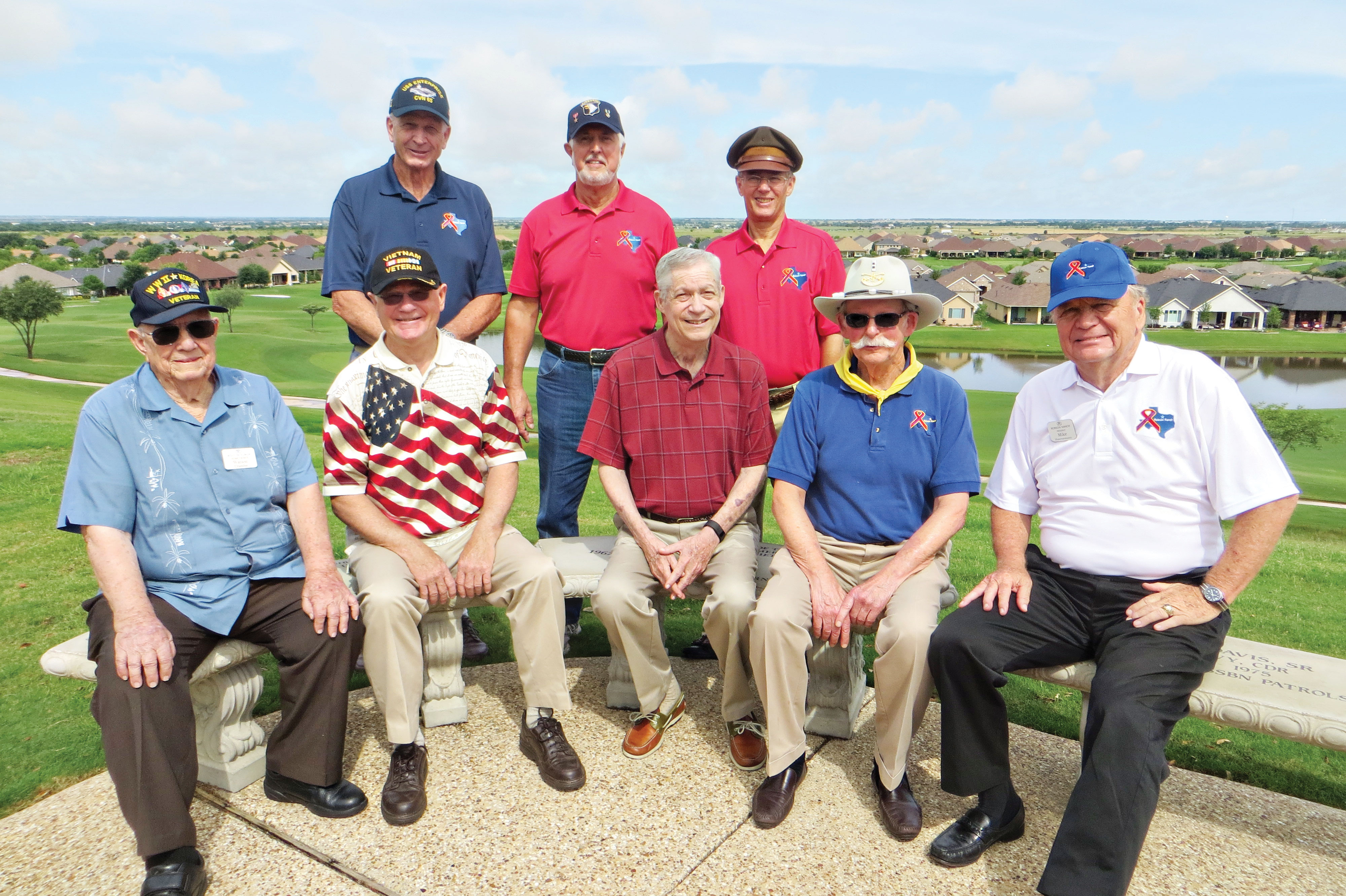 Honored Robson Ranch Veterans on Memorial Day