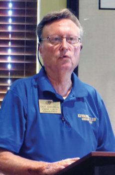Dick Anderson, Ham radio operator, prepared for the next emergency.