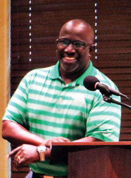 Reggie Johnson putting the lives of children first