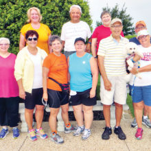 Living Well walkers reap healthful benefits to body and mind