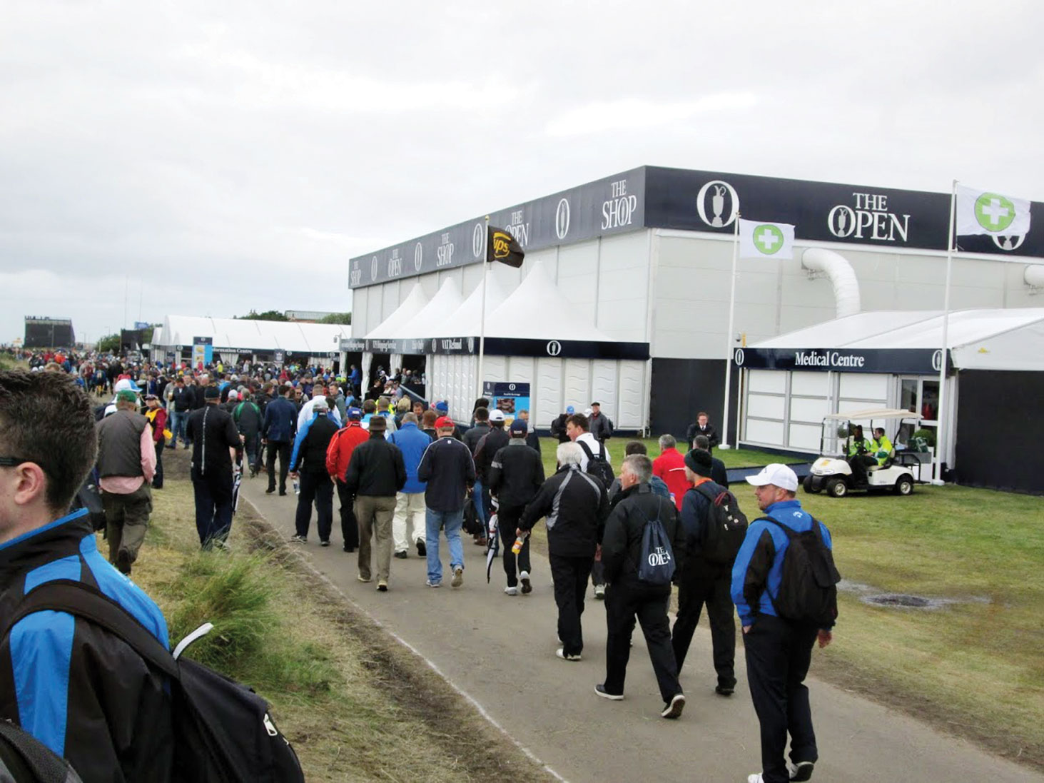 The British Open; photo by David Laschinger