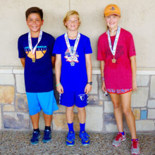 Singles Winners: Ryan Theleman, Gold; Charlie Willmann, Silver; Morgan Schorn, Bronze