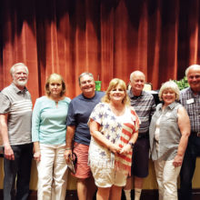 Third Place Team, Tip of the Tongue: Sponsor-Shelby, Dave Parker, Les and Vernell Ross, Stan Brien, Susan Parker, Allen Goodrich, Betty and Klaus Dannenberg, Sponsor-Kasey