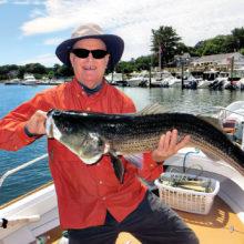 Wayne Rees, big fish day one