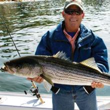 Joe Busick with a big catch